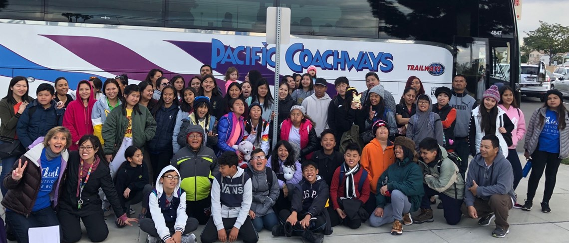 6th graders travel to the mountains for 6th Grade Outdoor Science School